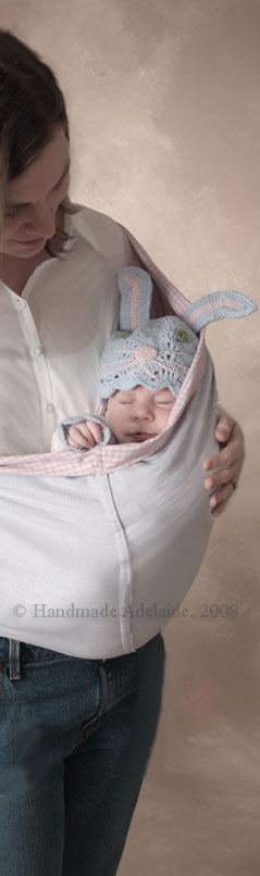 make your own baby sling