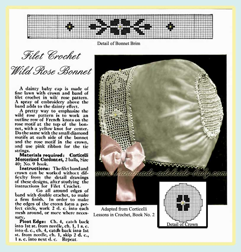 Crochet Filet Crochet patterns -- Free for Everyone!