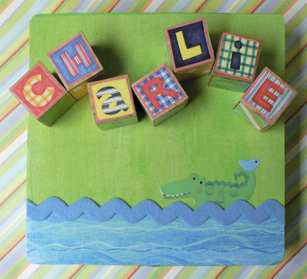 Personalized baby blocks negle Choice Image