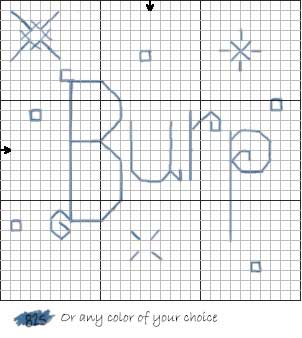 free baby cross stitch pattern 2 burp