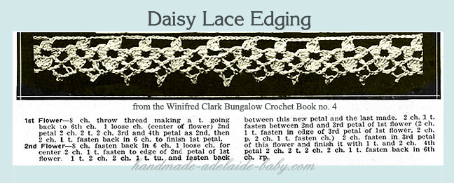 crochet edging patterns