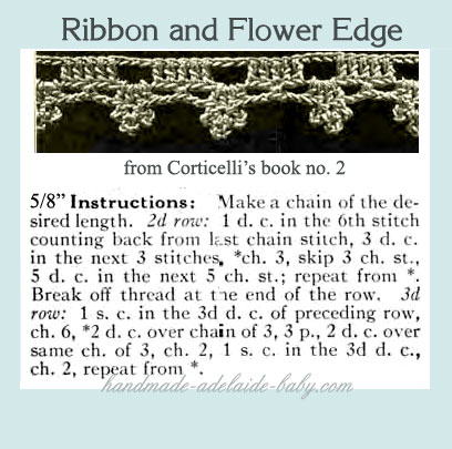 Crafty Chic: Crochet Edges for Baby - Mormonchic.com -- The online