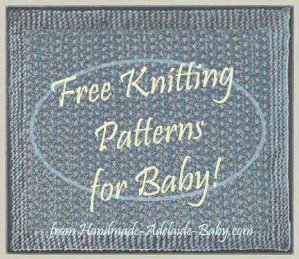 Free Knitting Pattern khs-diagonalBabyBlanket Diagonal Pattern