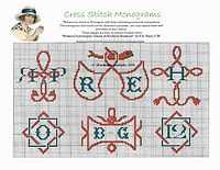 free monogram patterns