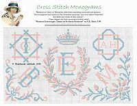 free cross stitch monograms