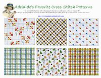 baby cross stitch patterns borders-2