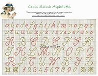 free baby patterns aqlphabets