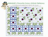 baby cross stitch patterns and border