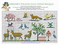 free baby cross stitch patterns animals
