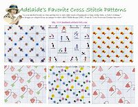 baby cross stitch patterns borders-1