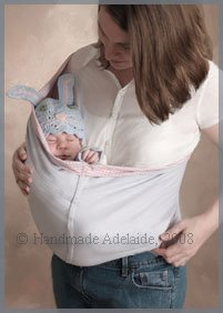 make a baby sling